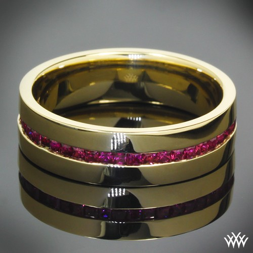 Whiteflash wedding band