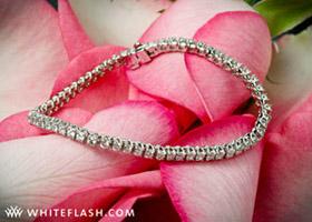 x-prong-diamond-bracelet