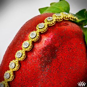 Yellow-Gold-Braided-Diamond-Tennis-Bracelet-by-Whiteflash-3