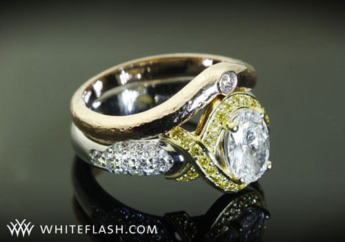 yellow loose diamonds