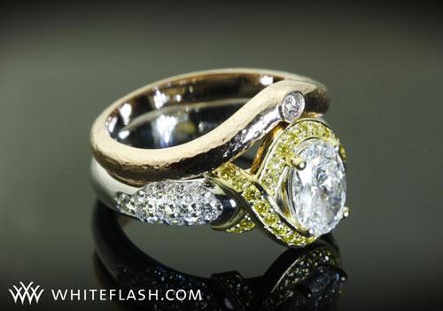 yellow loose diamonds