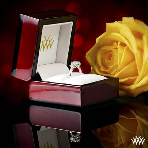 Whiteflash Ring and Jewelry Boxes