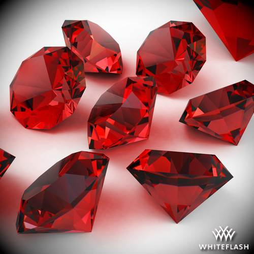 July Birthstone: Ruby. July Birthstone Color is Red