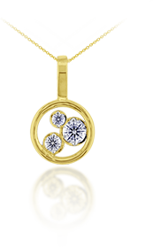 Dreams of Africa Diamond Pendant