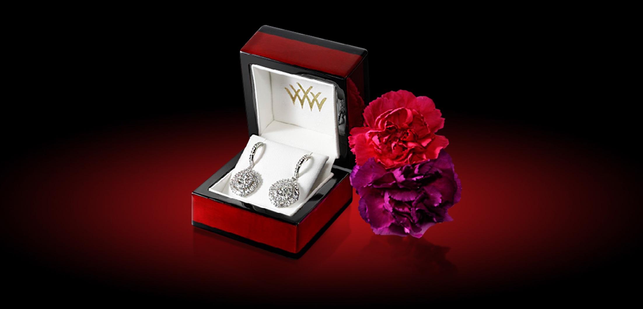 Engagement Ring Jewelry Box