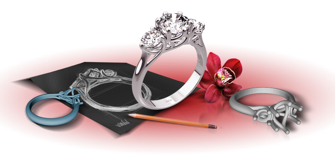engagement collection design custom melbourne cbd mdt jewellery jewellers rings