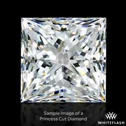 0.613 ct G VS2 A CUT ABOVE® Princess Super Ideal Cut Diamond