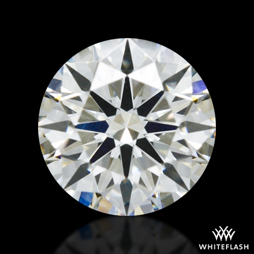 0.414 ct I SI1 A CUT ABOVE® Hearts and Arrows Super Ideal Round Cut Loose Diamond