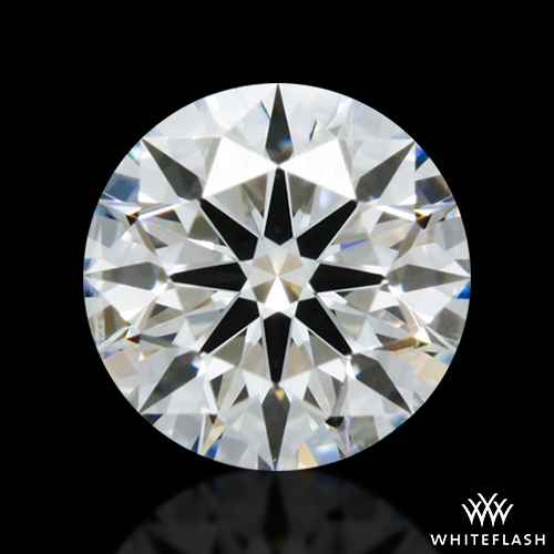 0.421 ct F SI1 A CUT ABOVE® Hearts and Arrows Super Ideal Round Cut Loose Diamond