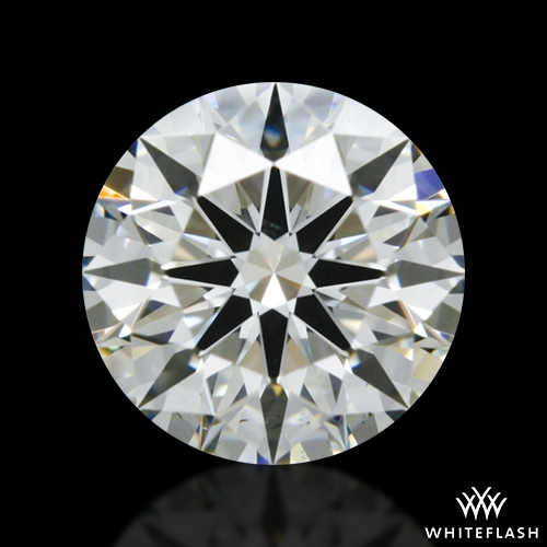 0.627 ct I VS2 A CUT ABOVE® Hearts and Arrows Super Ideal Round Cut Loose Diamond