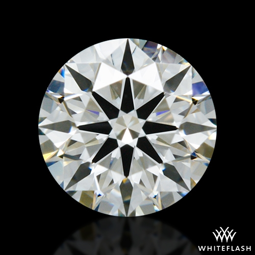 0.808 ct I VS1 A CUT ABOVE® Hearts and Arrows Super Ideal Round Cut Loose Diamond