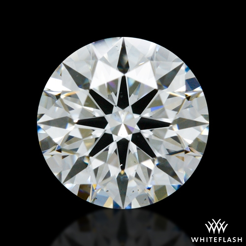 0.81 ct F SI1 A CUT ABOVE® Hearts and Arrows Super Ideal Round Cut Loose Diamond