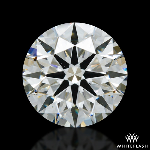 0.877 ct H VS1 A CUT ABOVE® Hearts and Arrows Super Ideal Round Cut Loose Diamond