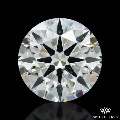 1.02 ct I SI2 A CUT ABOVE® Hearts and Arrows Super Ideal Round Cut Loose Diamond