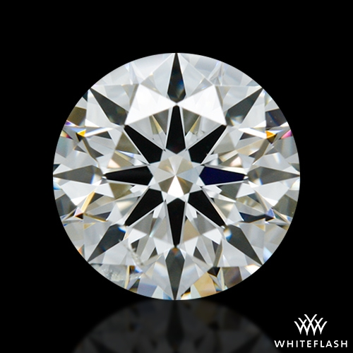 1.243 ct I SI2 A CUT ABOVE® Hearts and Arrows Super Ideal Round Cut Loose Diamond