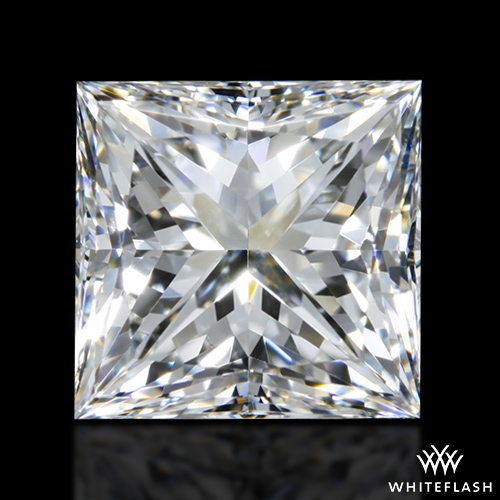 1.508 ct H VS1 A CUT ABOVE® Princess Super Ideal Cut Diamond