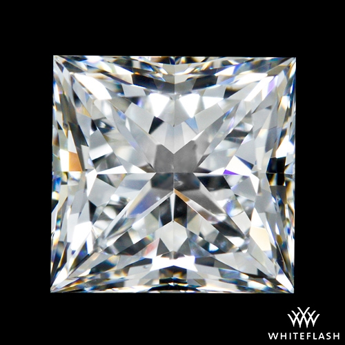 1.533 ct F VS2 A CUT ABOVE® Princess Super Ideal Cut Diamond