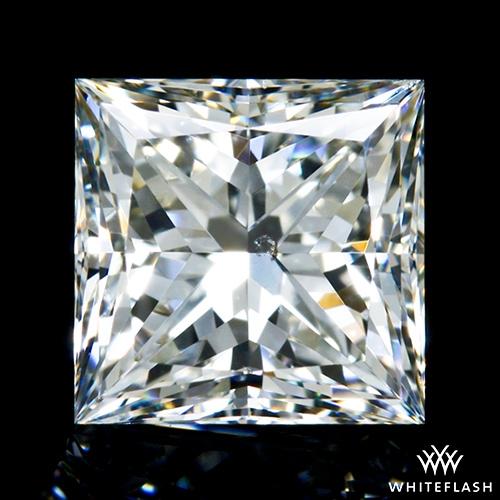 1.025 ct J SI1 A CUT ABOVE® Princess Super Ideal Cut Diamond