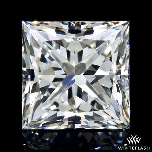 1.394 ct J VS1 A CUT ABOVE® Princess Super Ideal Cut Diamond
