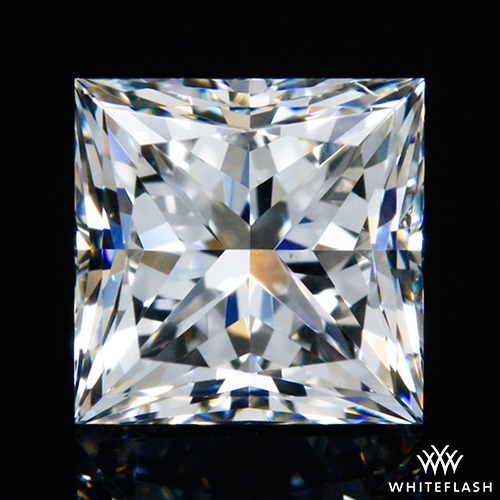 0.808 ct H VS1 A CUT ABOVE® Princess Super Ideal Cut Diamond
