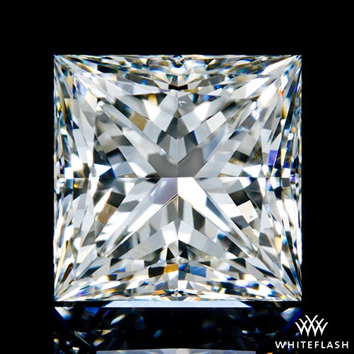 2.217 ct J VS2 A CUT ABOVE® Princess Super Ideal Cut Diamond