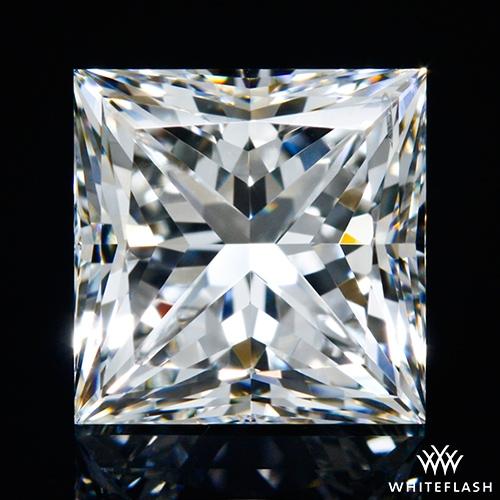 1.717 ct H VS2 A CUT ABOVE® Princess Super Ideal Cut Diamond