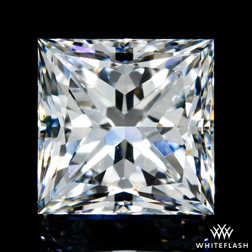 1.254 ct E VS1 A CUT ABOVE® Princess Super Ideal Cut Diamond