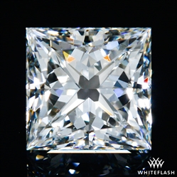0.711 ct H SI1 A CUT ABOVE® Princess Super Ideal Cut Diamond