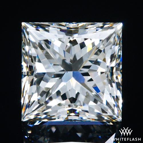 0.72 ct J VS1 A CUT ABOVE® Princess Super Ideal Cut Diamond