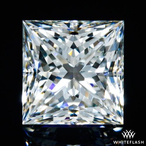 0.512 ct I VS2 A CUT ABOVE® Princess Super Ideal Cut Diamond