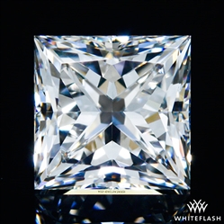 0.841 ct F VS2 A CUT ABOVE® Princess Super Ideal Cut Diamond