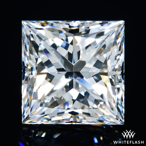 0.804 ct F VS2 A CUT ABOVE® Princess Super Ideal Cut Diamond