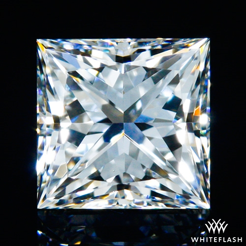 0.508 ct F VS1 A CUT ABOVE® Princess Super Ideal Cut Diamond
