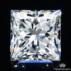 0.728 ct F VS2 A CUT ABOVE® Princess Super Ideal Cut Diamond