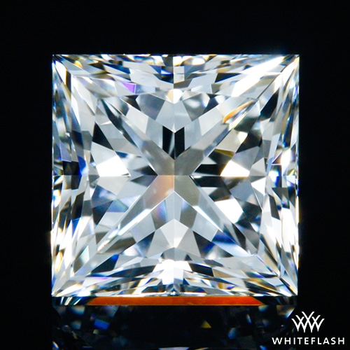0.835 ct F VS1 A CUT ABOVE® Princess Super Ideal Cut Diamond