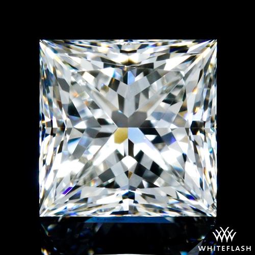 0.748 ct I VS2 A CUT ABOVE® Princess Super Ideal Cut Diamond