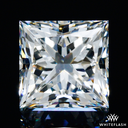 0.777 ct H VS2 A CUT ABOVE® Princess Super Ideal Cut Diamond