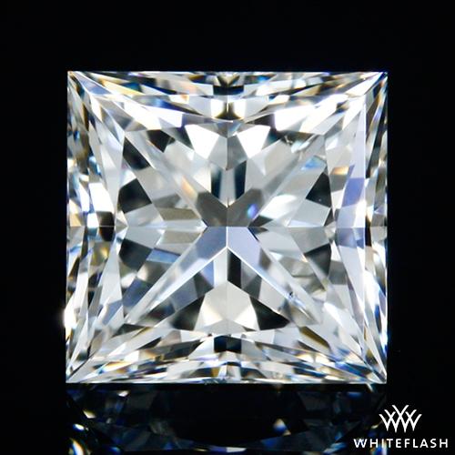 0.704 ct I VS1 A CUT ABOVE® Princess Super Ideal Cut Diamond