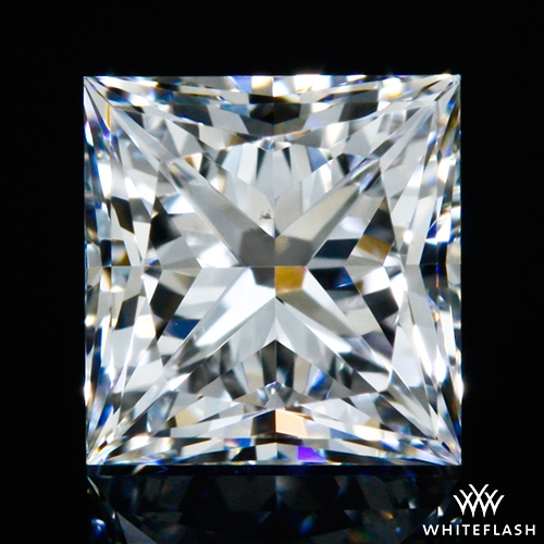 0.504 ct D VS2 A CUT ABOVE® Princess Super Ideal Cut Diamond