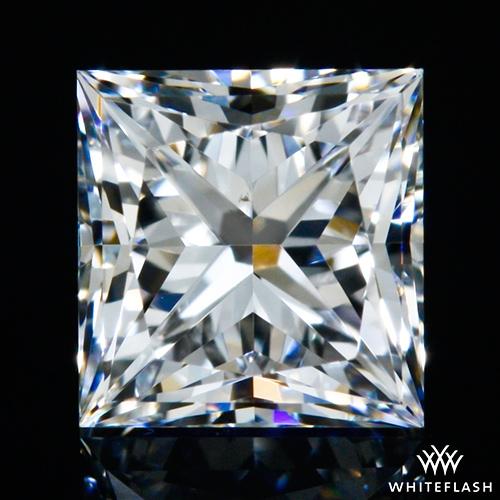 0.504 ct D VS2 A CUT ABOVE® Princess Super Ideal Cut Diamond
