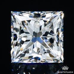 0.582 ct F VS2 A CUT ABOVE® Princess Super Ideal Cut Diamond
