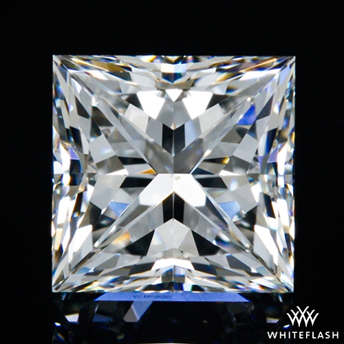 0.802 ct F SI1 A CUT ABOVE® Princess Super Ideal Cut Diamond