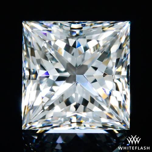 0.55 ct F VVS2 A CUT ABOVE® Princess Super Ideal Cut Diamond