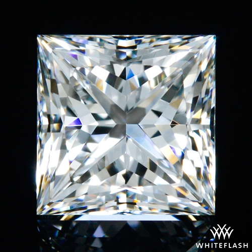 0.55 ct F VVS2 A CUT ABOVE® Princess Super Ideal Cut Diamond