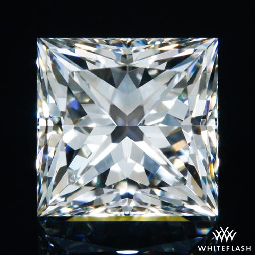 0.714 ct H VS2 A CUT ABOVE® Princess Super Ideal Cut Diamond