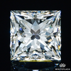 0.714 ct H VS2 A CUT ABOVE® Princess Super Ideal Cut Diamond