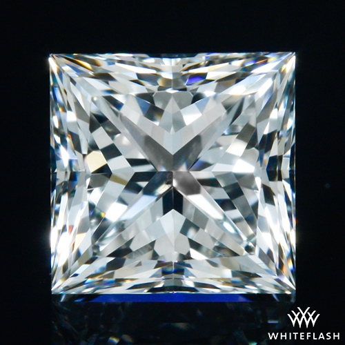 0.706 ct G VS2 A CUT ABOVE® Princess Super Ideal Cut Diamond