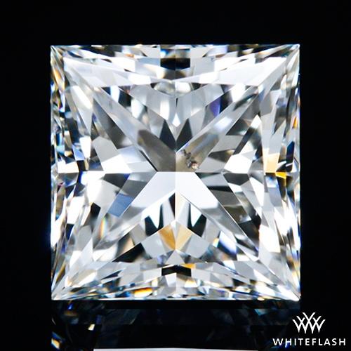 1.002 ct H SI1 A CUT ABOVE® Princess Super Ideal Cut Diamond