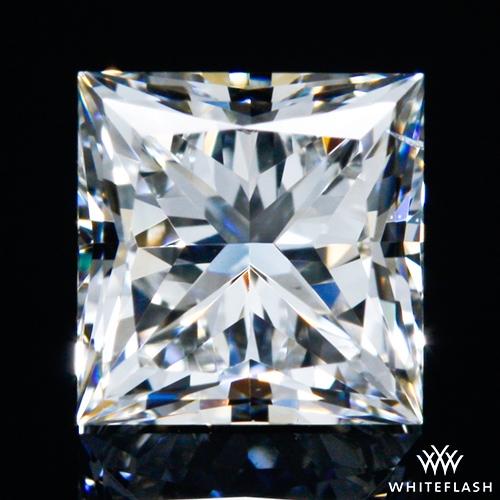 0.501 ct H SI1 A CUT ABOVE® Princess Super Ideal Cut Diamond