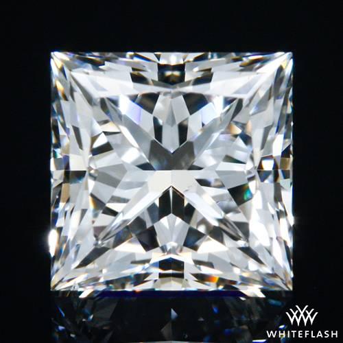 0.682 ct F VS2 A CUT ABOVE® Princess Super Ideal Cut Diamond
